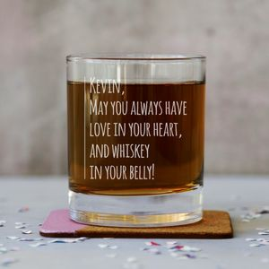 Personalised Whiskey Tumbler