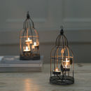 Birdcage Antique Style Tea Light Holder