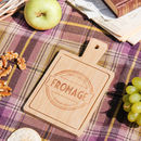 French Cheese Serving Boards In Slate Or Bamboo