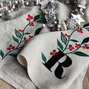 Personalised Christmas Gift Tea Towel
