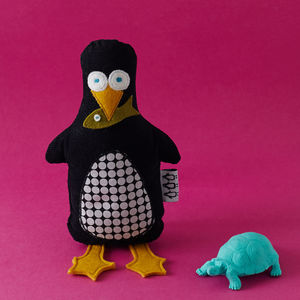 Murdoch The Penguin Handmade Soft Toy