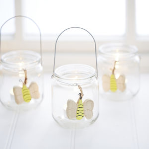 Bee Garden Lantern - dining room