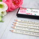 Emma Jane Austen Quote Pencils
