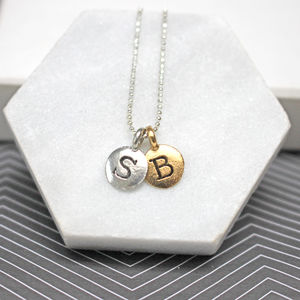 Personalised Initials Necklace - necklaces & pendants