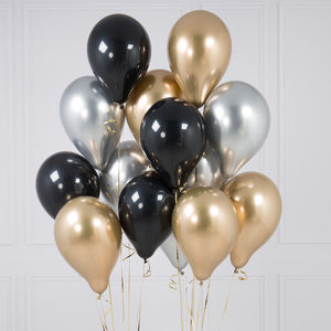 Pack Of 14 Glitz And Glam Party Balloons - outdoor decorations
