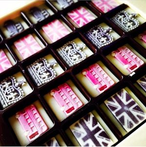 London Themed Chocolates - food gifts
