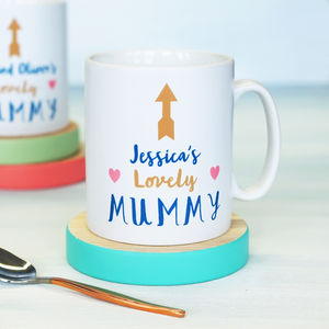 Personalised My Mummy Mug - tableware