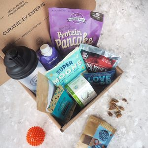 Wellthos Health And Fitness Gift Box Vegan Edition