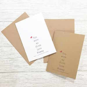 New Mummy Card - mother's day cards & wrap
