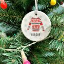 Christmas Jumper Ceramic Bauble