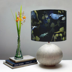 Forest Undergrowth Botanical Lampshade - lighting