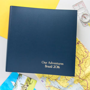 Traditionally Bound Photo Album