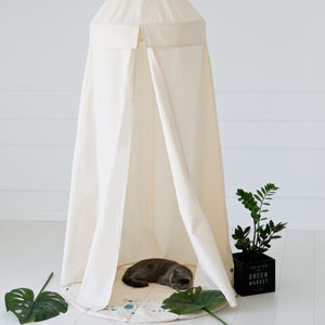 Hanging Tent Little Nomad / Natural - tents, dens & teepees
