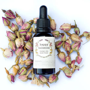 Organic Facial Oil Skin Food Soil Association - organic beauty