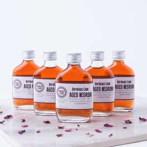 Five Mini Negroni Gin Cocktails - wedding favours