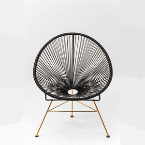 Acapulco String Metallic Chair - kitchen