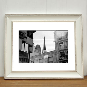 Cathedral, Rouen, France Photographic Art Print