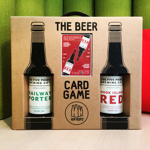 Beer Card Game And Craft Beer Gift Set - gifts for him