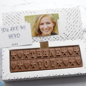 Personalised Chocolate Bar Gift - original corporate gifts