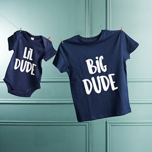 Big Dude / Lil Dude Set - gifts for babies