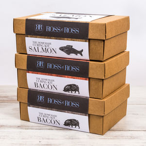 Make Your Own Bacon And Salmon Kits Complete Collection - make your own kits