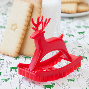 Cookie Cutter Christmas Reindeer - baking