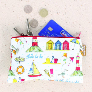 'To Be Beside The Seaside…' Purse