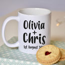 Wedding Engagement Couple Mug