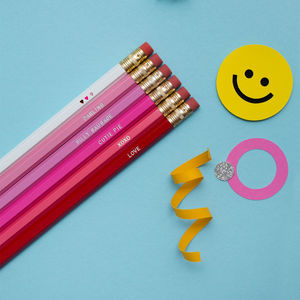 Cutie Pie Terms Of Endearment Pencil Set