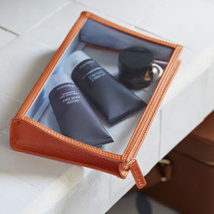 Luxury Leather Onboard Essentials Pouch For Him - wallets & money clips