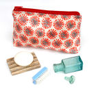 Dandelion Oil Cloth Wash Bags