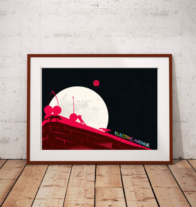 London Art Print Featuring Electric Avenue Brixton