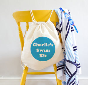 Personalised Swimming Kit Bag - bags & purses