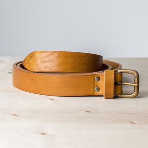 Blake Handcrafted Leather Belt