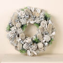Personalised Jingle Bells Frosted Door Wreath