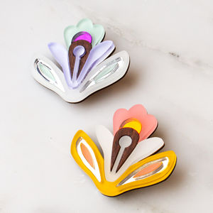 Wallpaper Brooch