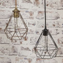 Lantern Cage Ceiling Lights