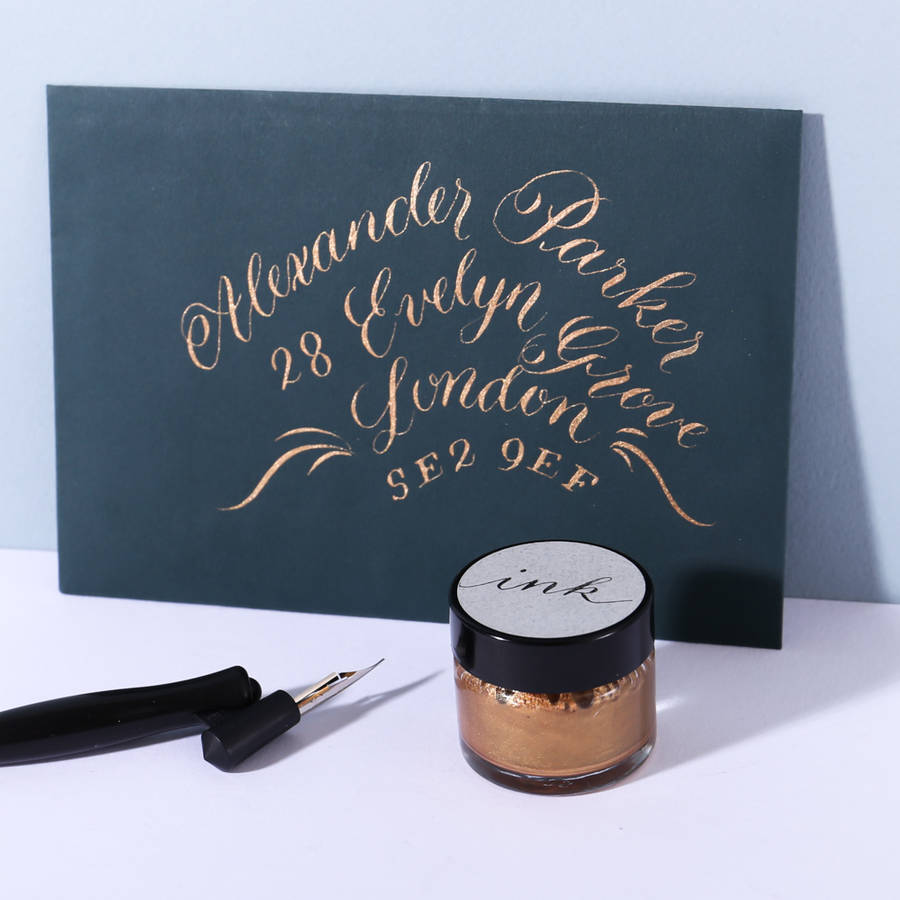 Copper Calligraphy Ink By L 39 Aise