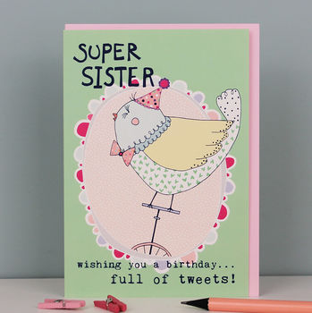 Birthday Card For A Sister