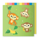 Monkey Magnet Card