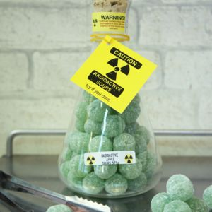 Radioactive Apple Sours - chocolates & confectionery