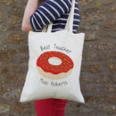 Donut Personalised Teacher Bag