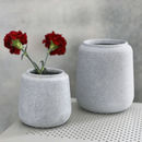 Grey Concrete Planter Pot