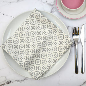 Set Of Four Meryam Napkins - napkins