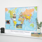 Personalised Map Of The World - prints & art
