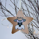 Pet Personalised Christmas Decoration Copper Printed