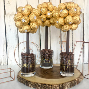 Personalised Ferrero Rocher® Sweet Tree - parties