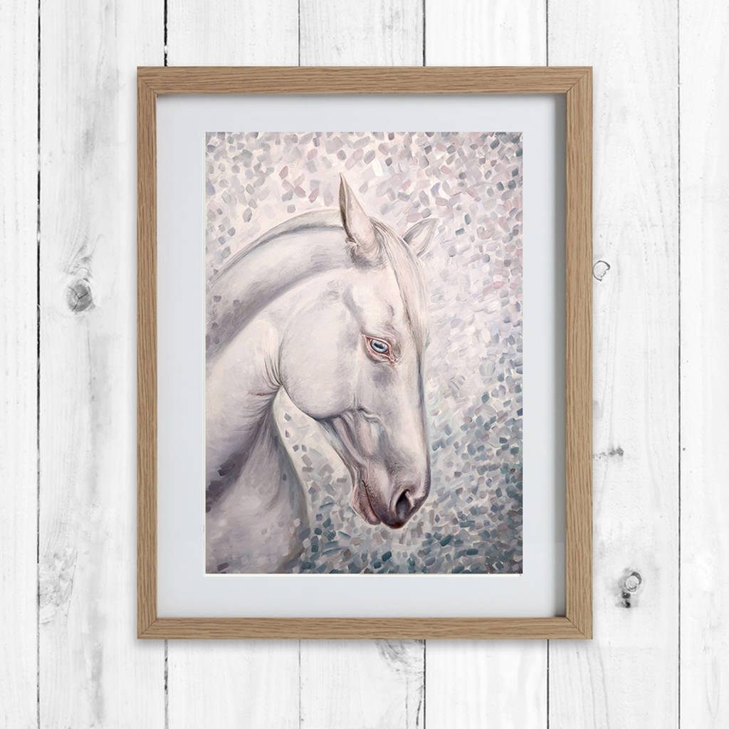 horse painting | framed horse prints | horse gifts by caroline ...