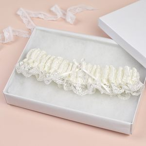 Bridal Garter 'Beth' Vintage Inspired - more