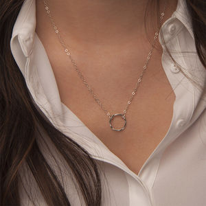 Sterling Silver Karma Necklace - necklaces & pendants
